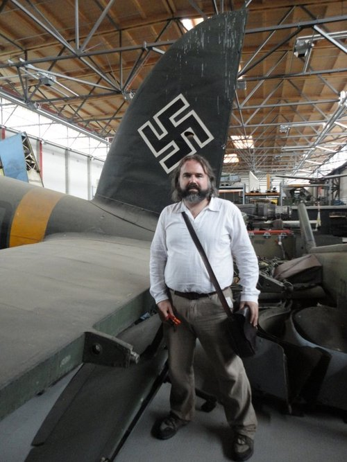 Shane Dunphy at the Luftwaffe Museum, Berlin