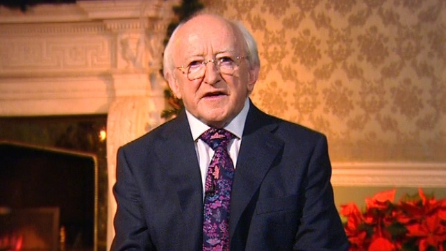 President Michael D Higgins has hit out at homophobia and racism in society