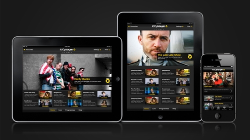 RTÉ Player now available on iPhone and iPad