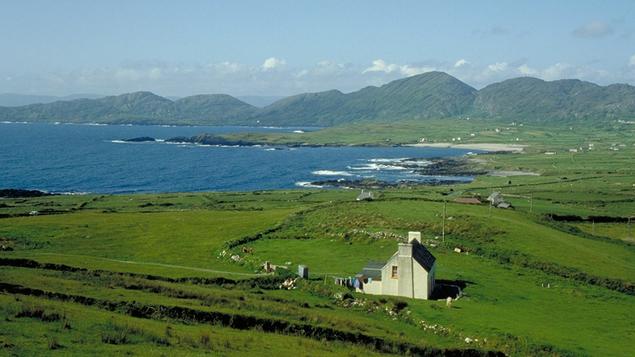 The ruggedly beautiful Beara Peninsula in County Cork