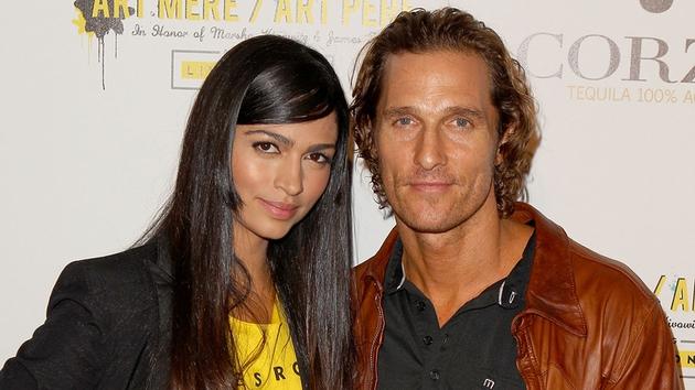 Camila Alves and husband Matthew McConaghey