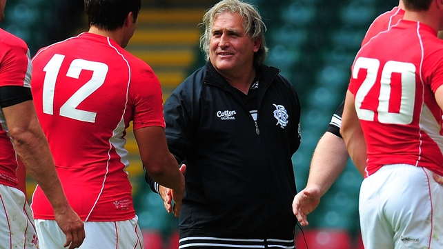 Scott Johnson - The Ospreys coach was involved with the Barbarians for their clash with Wales in June