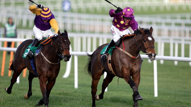 Noble Prince went all with the way with Big Zeb at Leopardstown last month