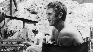 Steve McQueen starred in the movie version of The Great Escape