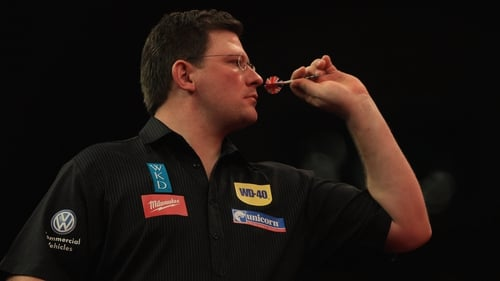 James Wade had to dig deep to beat Darren Webster