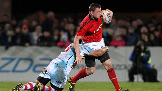 Denis Hurley resumes at No 15 for Munster