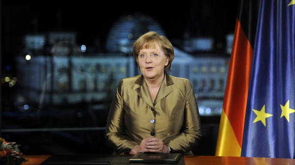 Angela Merkel says 2012 will be a difficult year