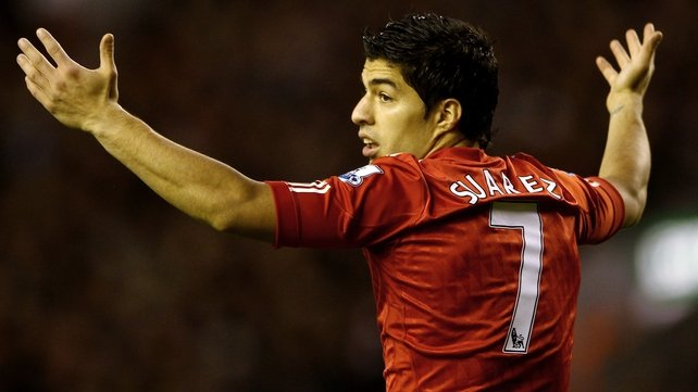 Luis Suarez will feature for Uruguay at the London 2012 Olympic Games
