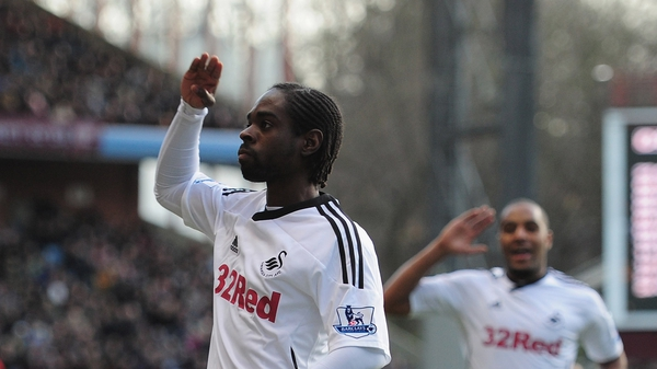 Nathan Dyer put Swansea on the way to a deserved away win