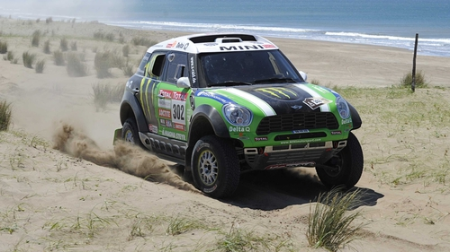 Stephane Peterhansel holds his lead at the Dakar Rally