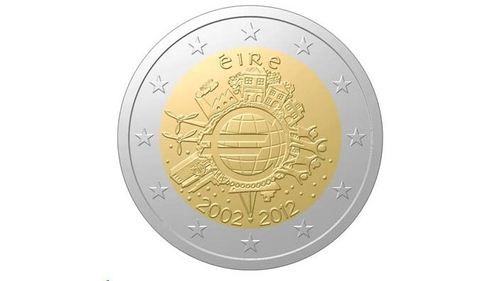 New coin issued to celebrate ten years of the euro