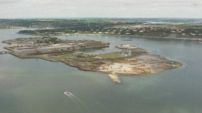The accident happened in Cork Harbour last year