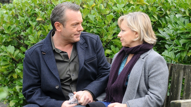 EastEnders - Will love blossom again for David (Michael French) and Carol (Lindsey Coulson)?