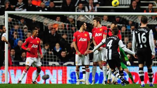 Geordie joy - Yohan Cabaye's wonder-goal sealed the victory for Newcastle