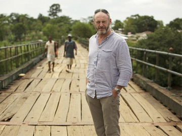 Actor Liam Cunningham presents Hostile Environment