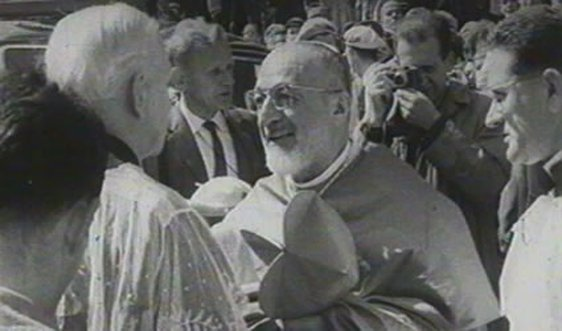 Cardinal Agagianian at a Patrician Year Celebrations in Ringsend Dublin 1961
