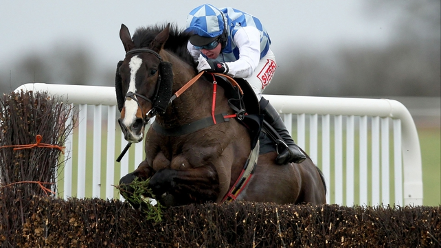 Overdue - Berties Dream claimed his first success since winning the Albert Bartlett Hurdle at the 2010 Cheltenham Festival