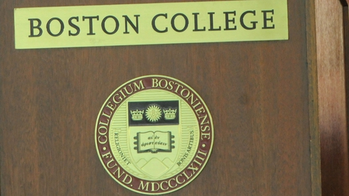 Boston College had funded the Belfast Project