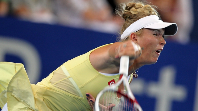 Caroline Wozniacki - Rated an outsider by the bookies