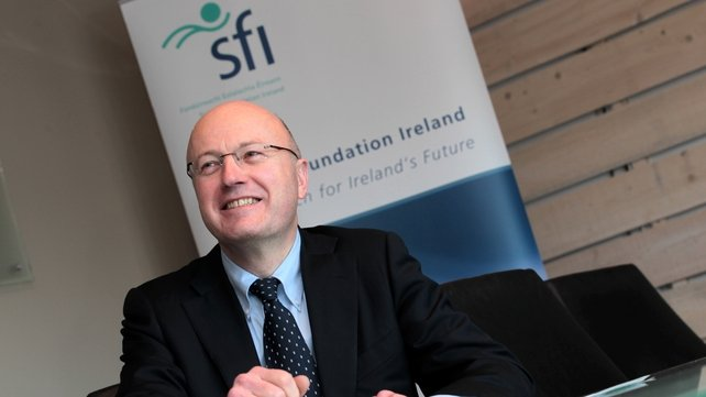 SFI's director general Professor Mark Ferguson welcomes funding from Europe