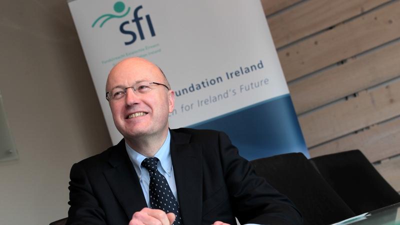 Science Foundation Ireland's Director General Professor Mark Ferguson