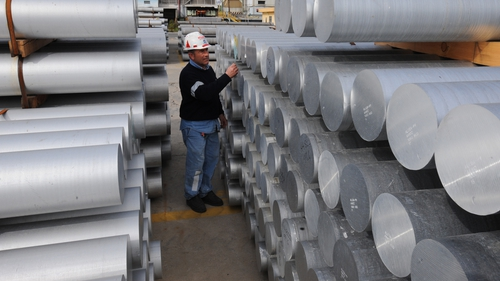 Alcoa is the first major US company to report second-quarter earnings
