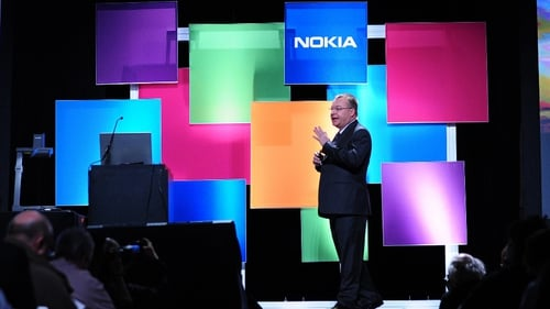 Nokia chief executive Stephen Elop unveils €15 phone