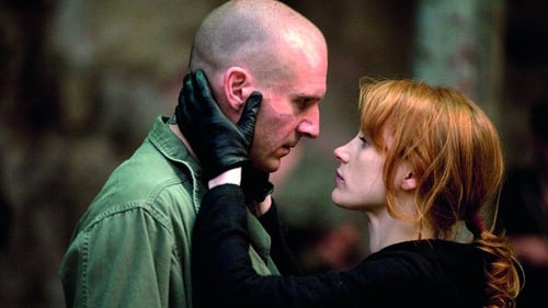Coriolanus is wooed by wife, Virgilia (Jessica Chastain)