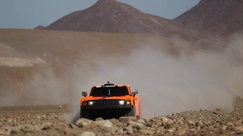 Two people have died following a crash at the Dakar Rally