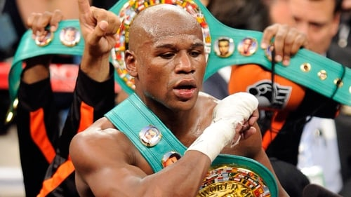 Floyd Mayweather has achieved 44 consecutive wins to date