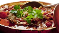 Autumn Casserole of Sausage, Pumpkin, Apple & Sage - This is a great simple, nutritious stew and salt free stew from Brian McDermott.