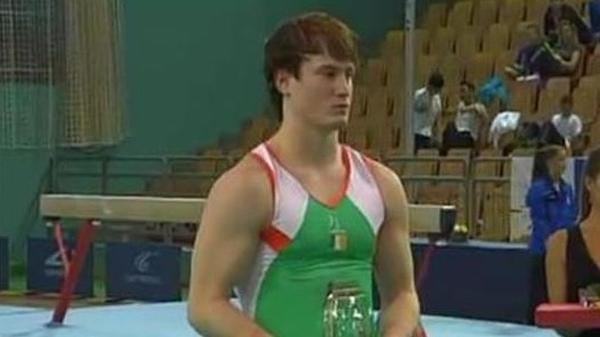 Kieran Behan - Picture via www.gymnasticsireland.com