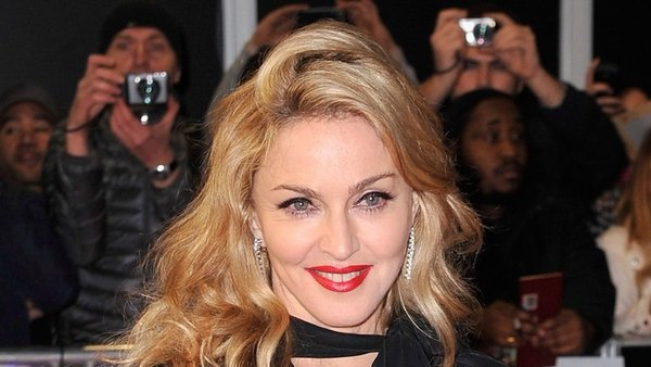 Madonna took to the red carpet to premiere W.E.