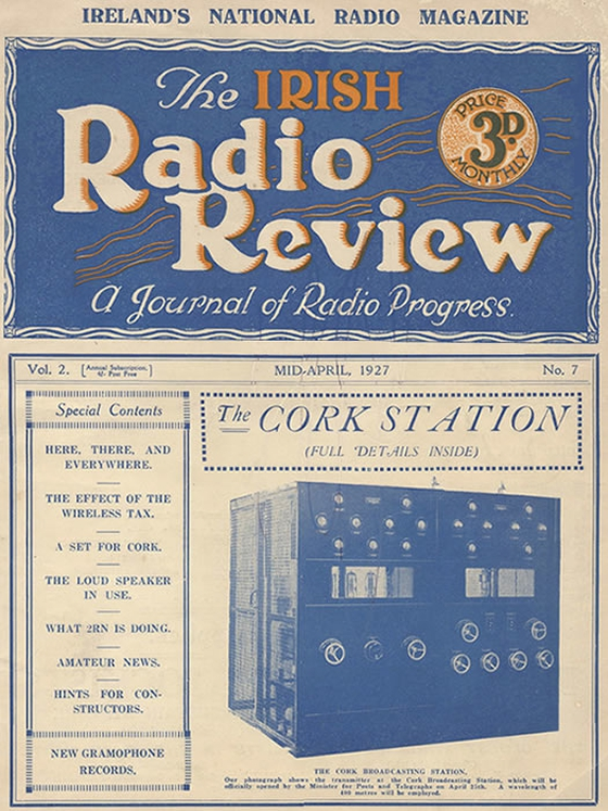 The Irish Radio Review (1927) RTÉ Written Archives Collection