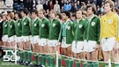 Irish team line up
