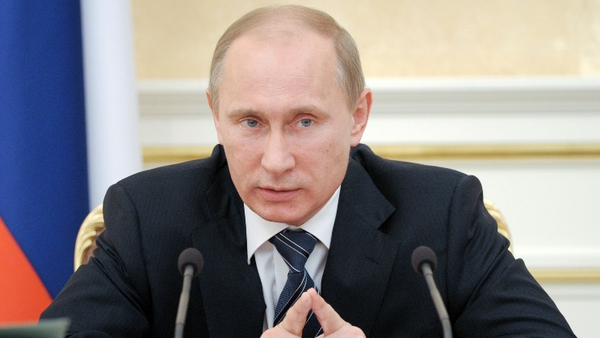 Vladimir Putin claims website was hacked