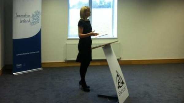 Heather Reynolds speaking at the launch