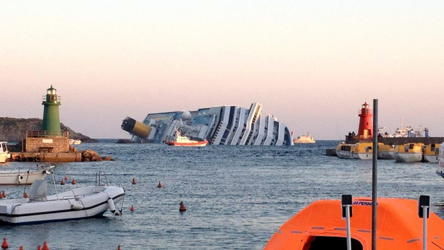 Three are confirmed dead after the ship ran aground and began to sink