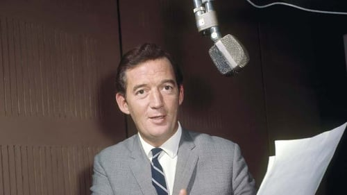 Bunny Carr in the early days of RTÉ television