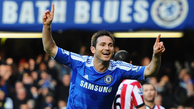 Frank Lampard has found game time limited of late