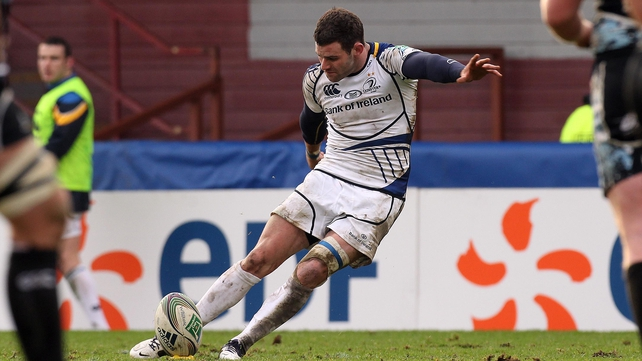Fergus McFadden took over the kicking duties after Jonny Sexton took a knock and added 10 points