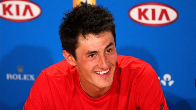 """I really don't know how I won but I am the happiest person alive right now,"" said Tomic after defeating 22nd seed Fernando Verdasco"