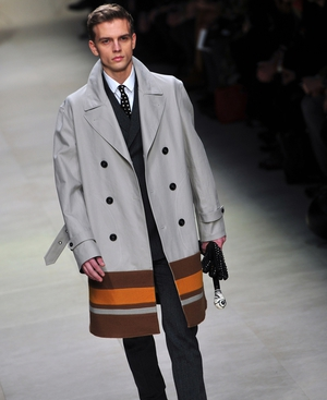 Burberry was all about the coats