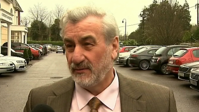 Kieran Mulvey of the Labour Relations Commission is among those facilitating negotiations