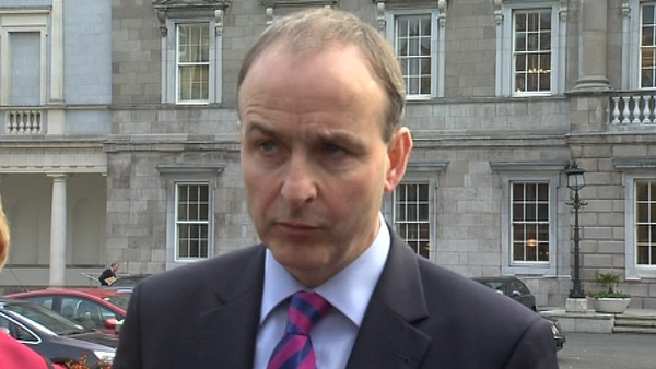 Micheál Martin said the DEIS cuts should be reversed