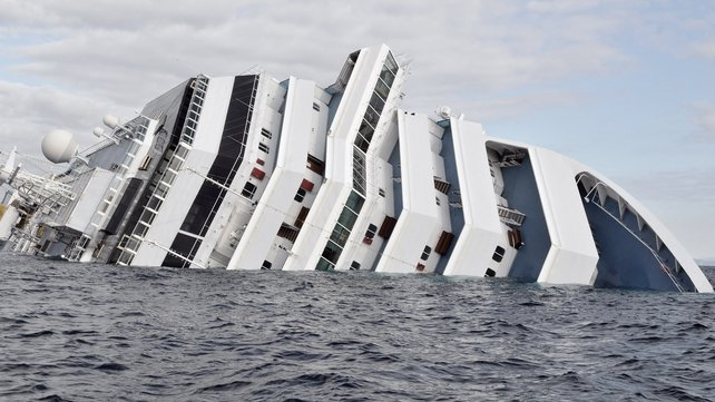 Costa Concordia capsized on Friday night