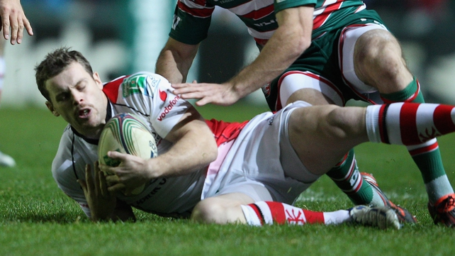 Darren Cave is back in the Ulster team after two months out with a foot injury