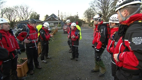 The system is currently being used by the Dublin-Wicklow and Glen of Imaal Mountain Rescue Teams
