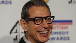 """Goldblum - """"The technology that we found from the downed (alien) ships has been appropriated and married with some of our technologies so we're ready with a bigger punch and some bigger shields"""""""