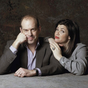 Phil pictured with co-host Kirstie Allsopp.